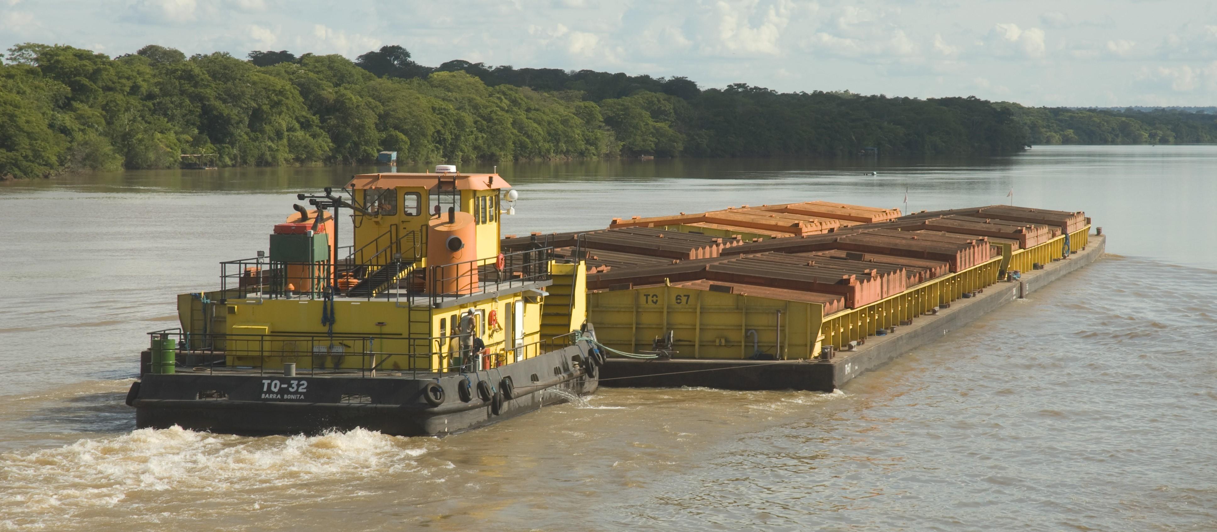 Brasil só utiliza um terço da malha hidroviária