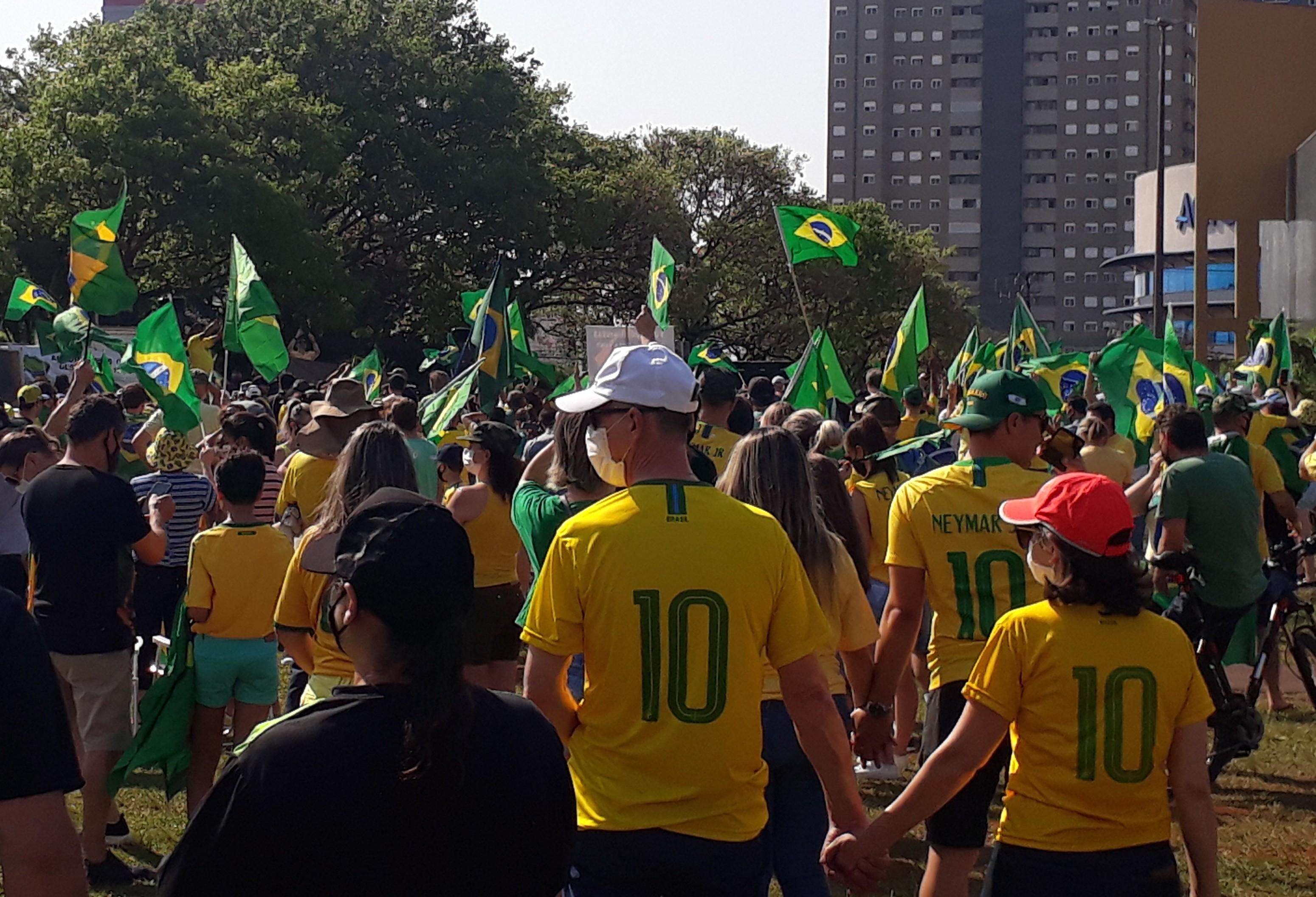 7 de Setembro é marcado por manifestação em Cascavel