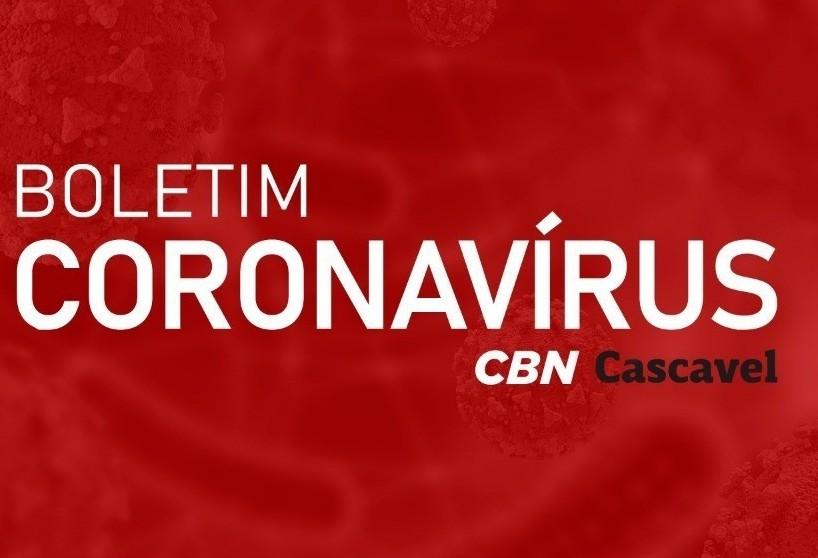 Cascavel tem 307 casos ativos de Covid-19