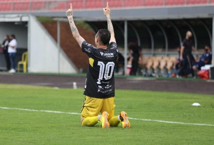 FC Cascavel vence Athletico de virada e está na final do Paranaense 2021