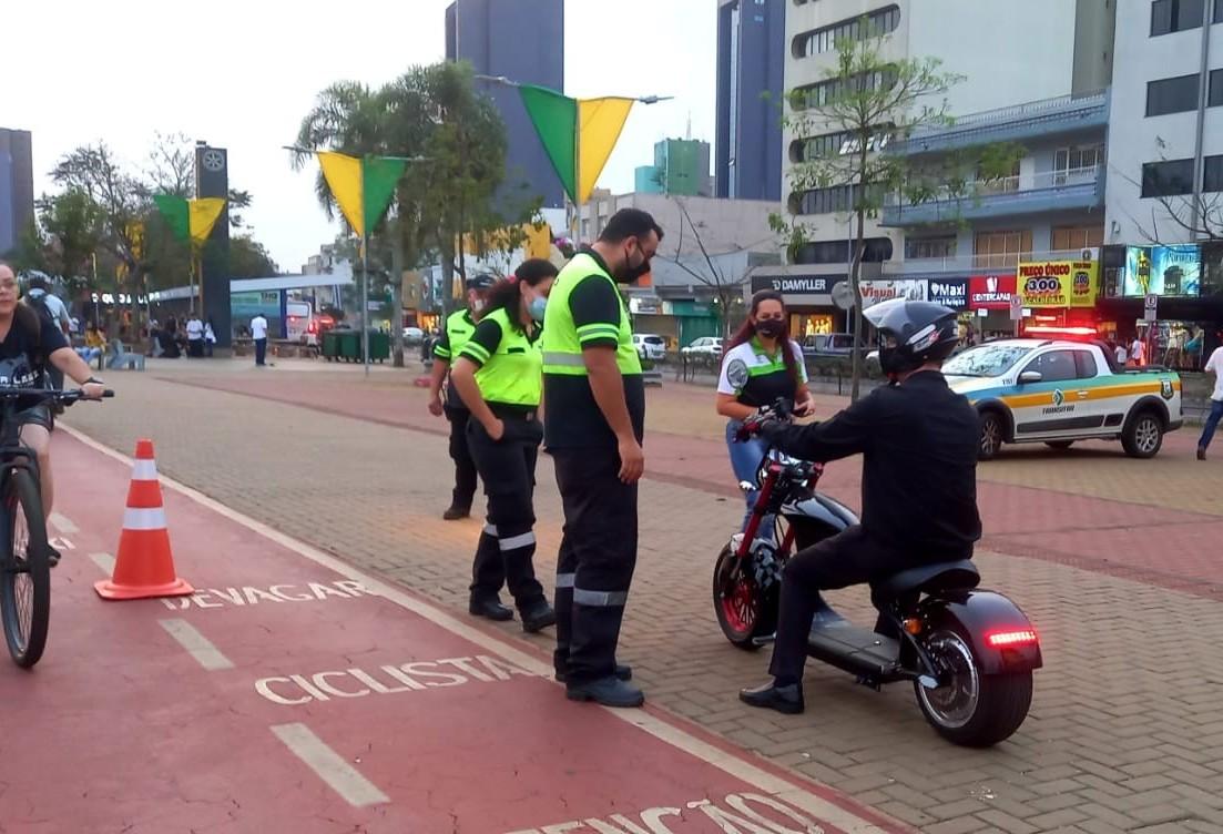 Mobilidade, trânsito e cidadania também ganham ênfase durante a Semana da Pátria em Cascavel