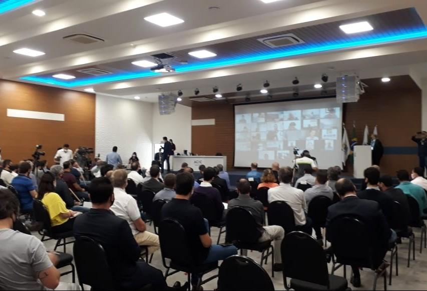 Primeira audiência pública para discutir sobre os novos pedágios é realizada em Cascavel
